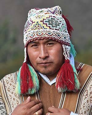 Picture of Andean Medicine Man, Puma Fredy Quispe Singona